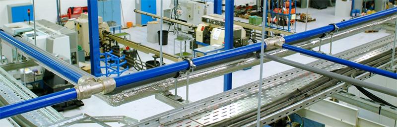 Aluminium-pipe-system